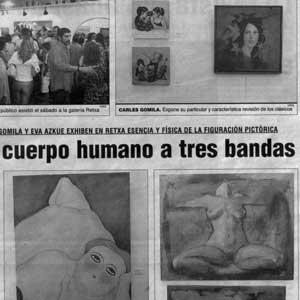 «Alma y cuerpo a tres bandas»