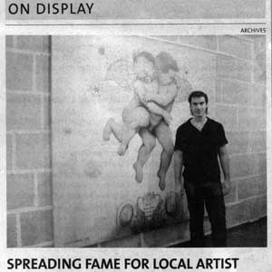 «Spreading fame for local artist»