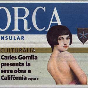 «Carles Gomila presenta la seva obra a Califòrnia»
