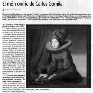 «El món oníric de Carles Gomila»