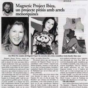 «Magnetic Project Ibiza, un projecte pitiús amb arrels menorquines»