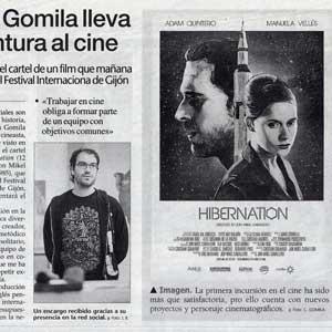 «Carles Gomila lleva su pintura al cine»