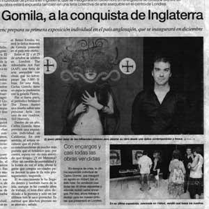 «Carles Gomila, a la conquista de Inglaterra»
