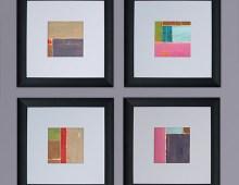 Torn Paper Painting Series