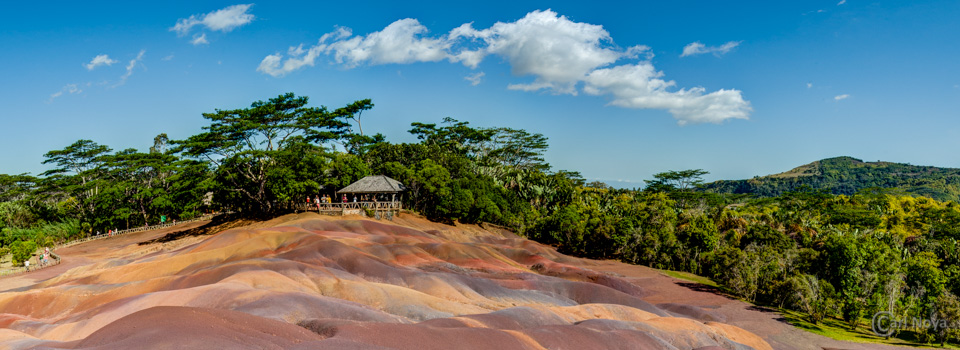 Seven Coloured Earth @ Mauritius