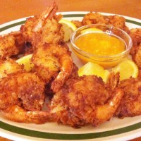 Coconut Cumin Fried Shrimp