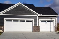 long-panel-plain-glass-windows-white-garage-door-in-downs ...