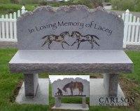 Memorial Benches in Colorado | Carlson Memorial