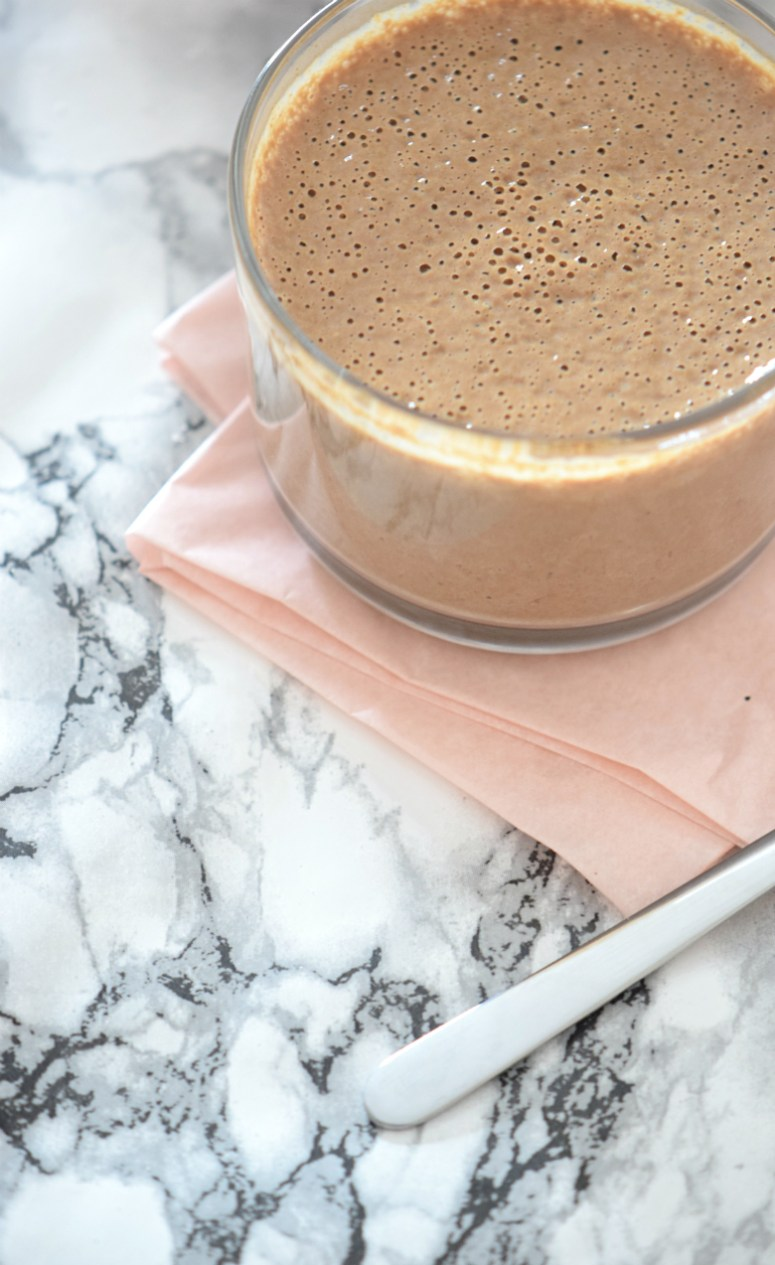 5 minutes chocolate pudding