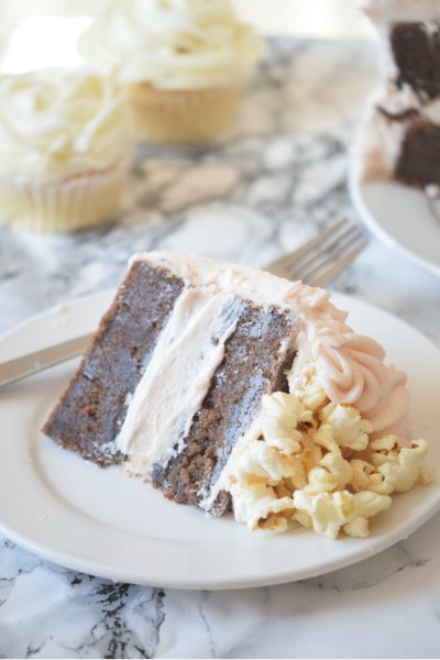 Popcorn Cake that Brings the POP