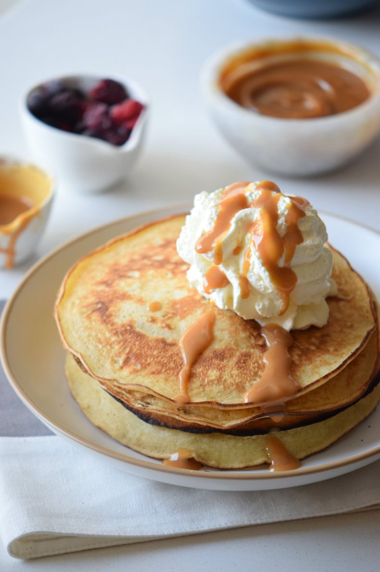Pancake Recipe EVER! These Caramel Pancakes are the best breakfast ...