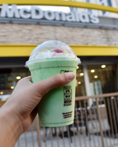 Happiness to do list: Go for a Shamrock Shake