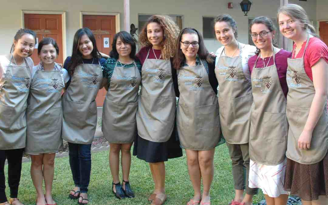 Serving with the Sisters