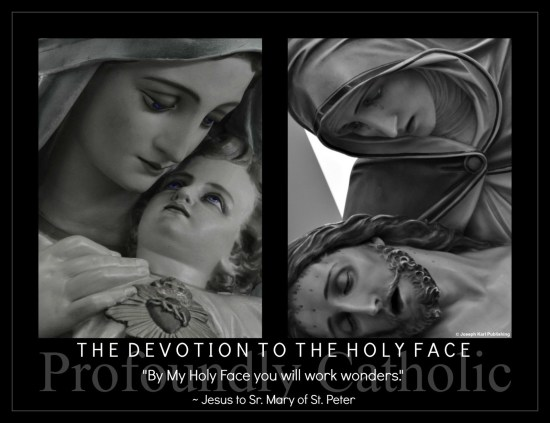 to the Holy Face – Jesus to Sr. Mary of St. Peter, Carmelite nun