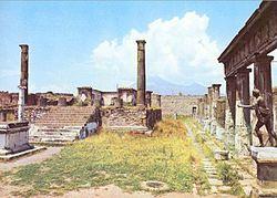 Pompeii in sun
