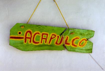 Mystery location Acapulco Emilia Cruz series