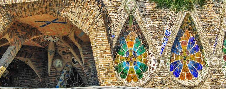 Miniature Sagrada Familia By Gaudi Colonia Guell