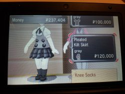 Pokemon X/Y: Character Customization – Lumiose City Boutique