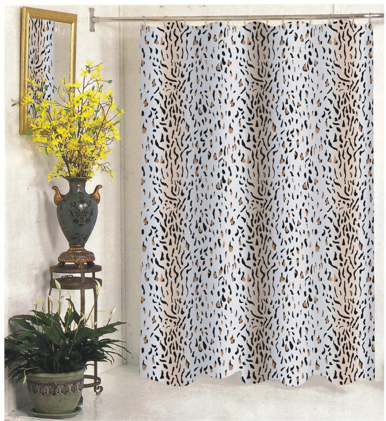 108 Inch Wide Shower Curtain Carnation Home Fashions Inc Extra Wide Fabric Shower Curtains