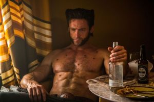 Wolverine played by Hugh Jackman