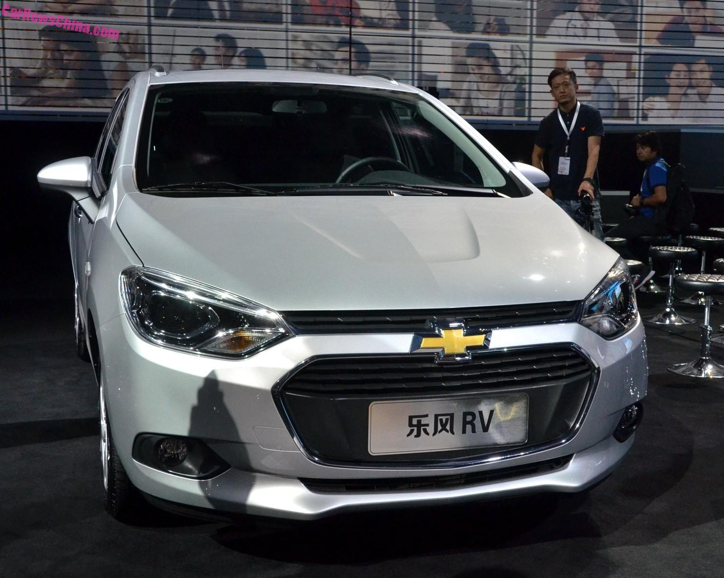 Lova Chevrolet Lova Rv Debuts On The Guangzhou Auto Show In