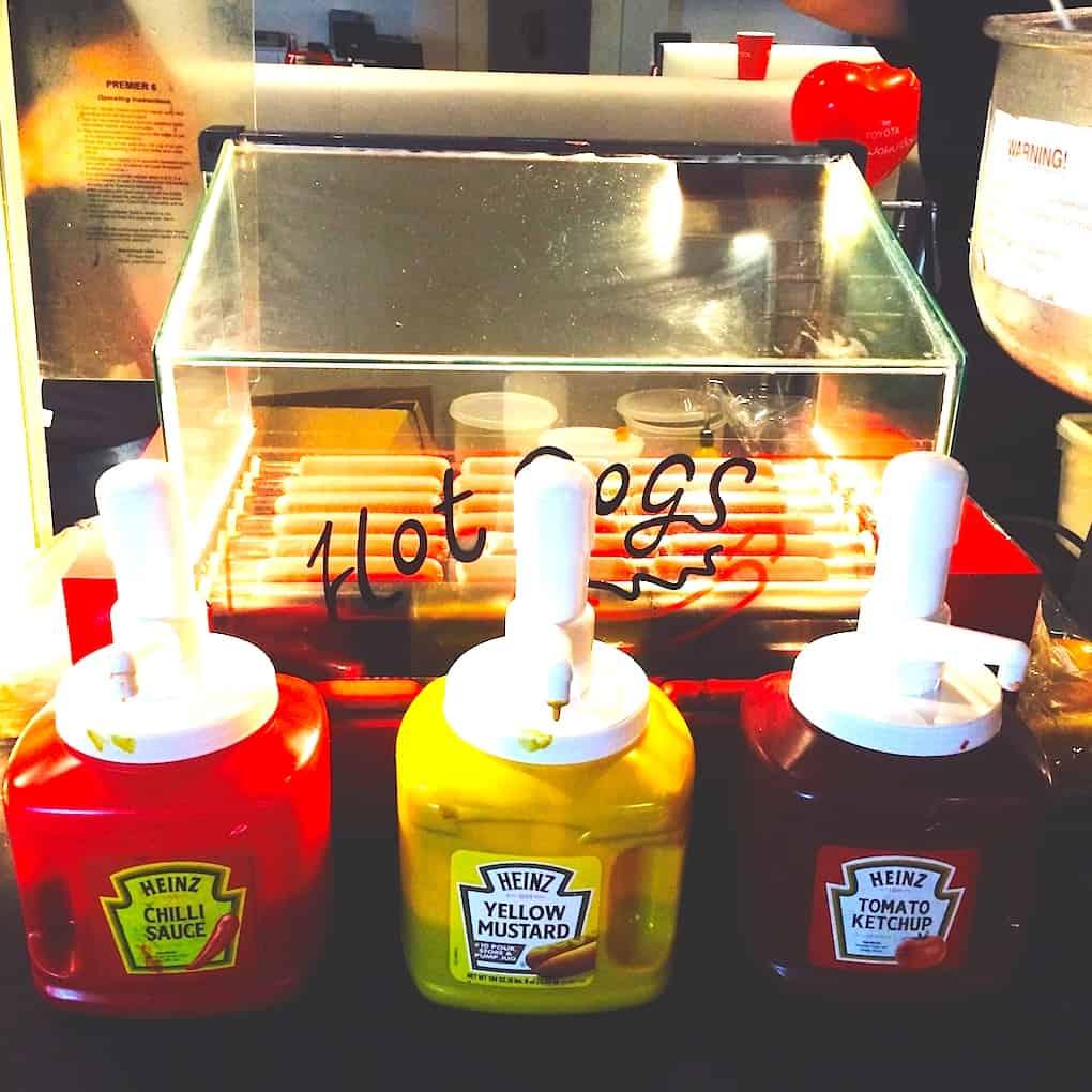 Hotdog Bun Stall
