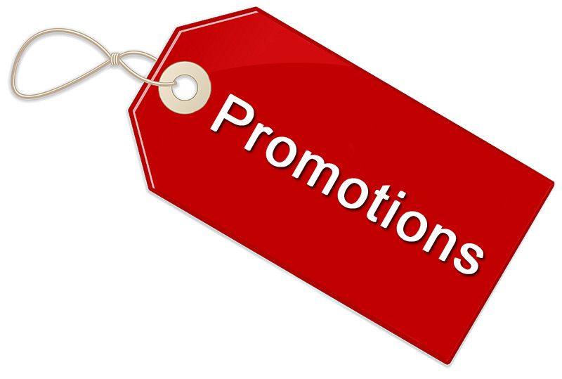 Promotions !