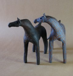 Carol Hayward Fell Ceramic Horse