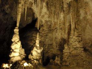 Carlsbad Caverns - Stelagtites