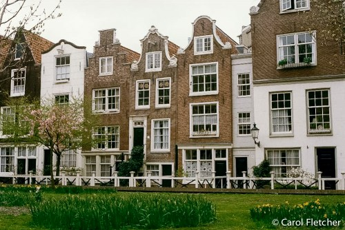 Begijnhof, in Bruges, Belgium