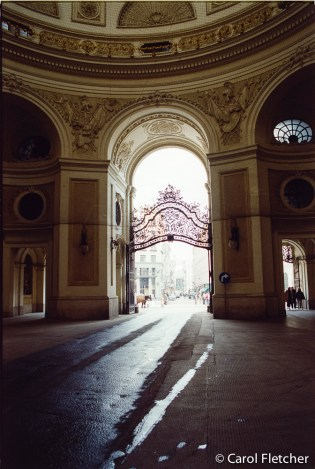 Afternoon Light at Hofburg, Vienna