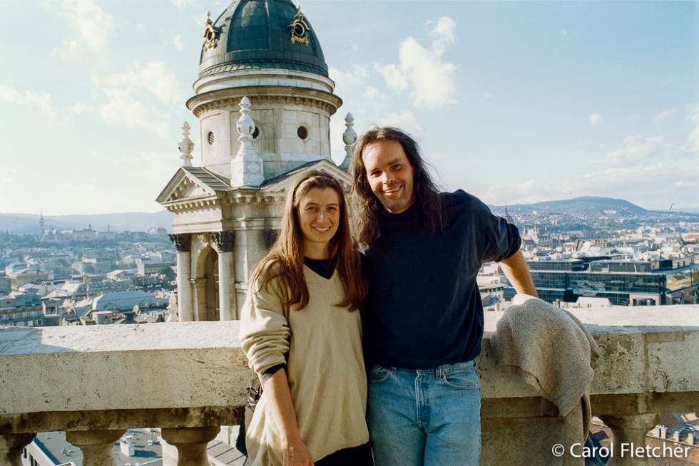 Carol & Bryan in Budapest
