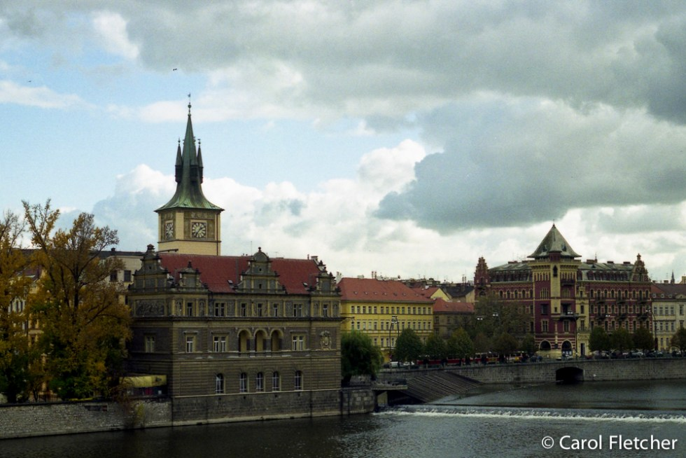 Prague's Vltava River