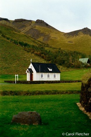 Skogar Church, Iceland