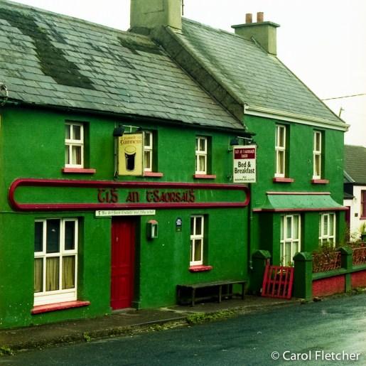 Ballyferriter, the Gaeltacht, Eire