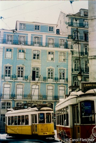 Lisbon trolleys