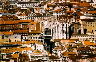 Lisbon: view of Baixa