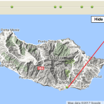 Our route around one of four Madeira Islands