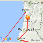 The route North in Portugal