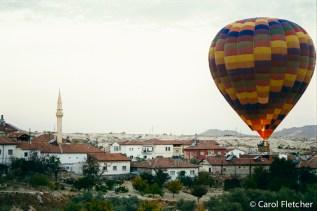 Minarets and hot air balloons