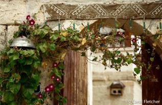 Rural Turkey doorway