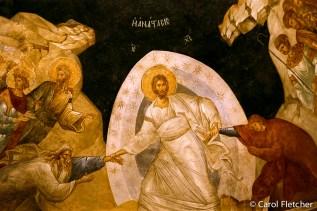 Fresco at Chora