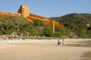 Our hotel in Ixtapa: Las Brisas