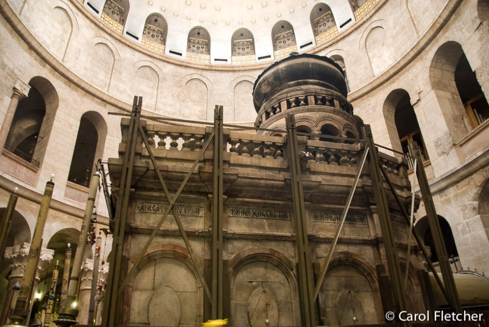 Christ's Tomb, inside the Holy Sepulchre