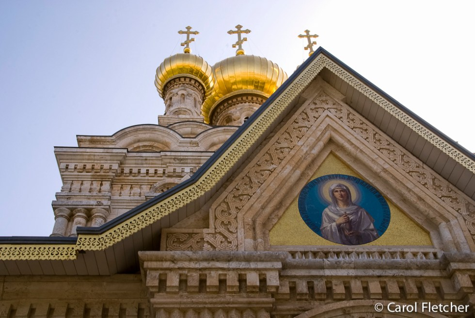 Russian Church of Mary Magdalene: What a pretty church!