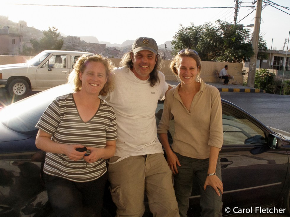 Manuela & Kerstin: shared ride to Petra