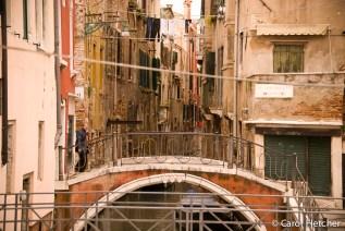 Back streets in Venice