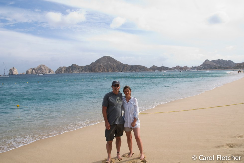 Carol and Bryan in Cabo