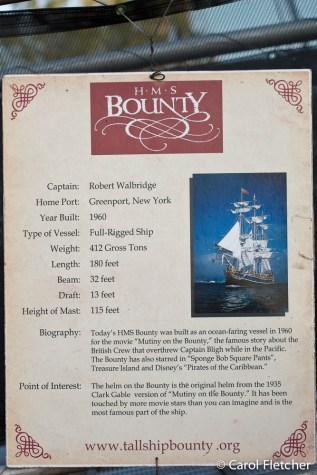 HMS Bounty information