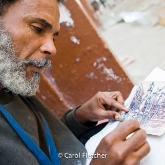 Street artist havana cuba